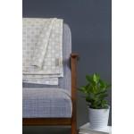 Merino Wool Alex Blanket in Dove Grey