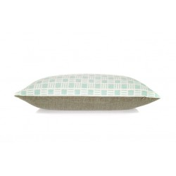 Oblong Alex cushion in Mint