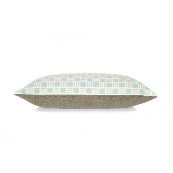 Oblong Alex cushion in Mint Scandinavian Style