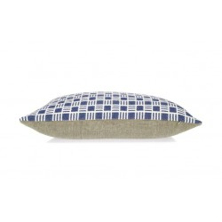Oblong Alex cushion in Sea Holly Blue