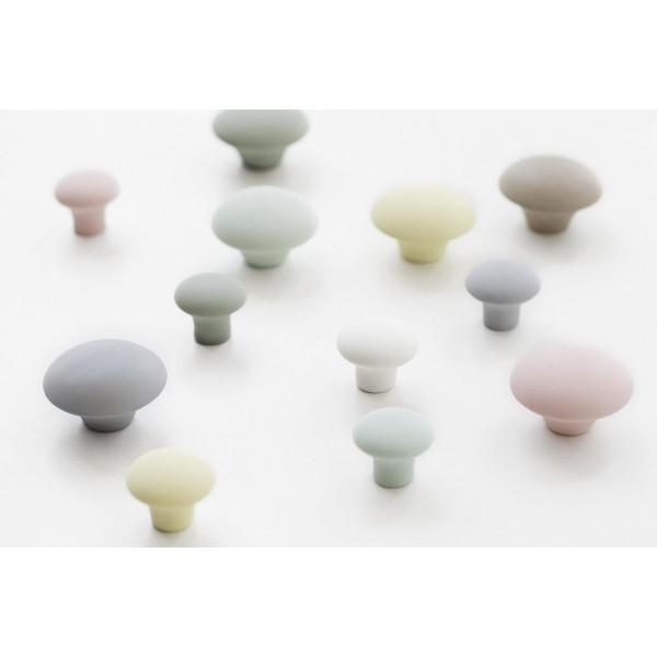 Matte Porcelain Handle Danish Knot