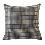 Groove Grey Cushion Lambs wool