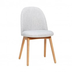 Adam Light Grey Chair
