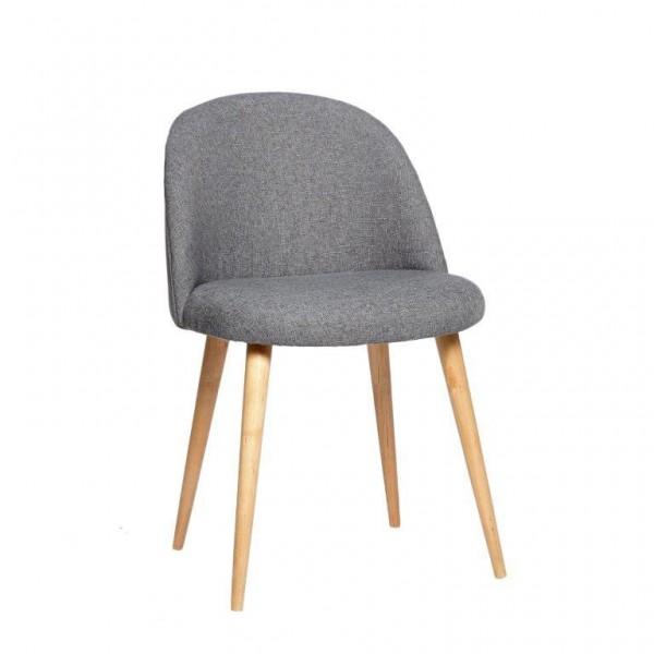 Emma Dark Grey Danish Chair
