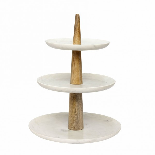 ETAGERE WITH 3 PLATES