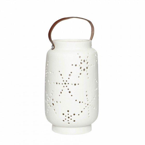 Lantern Ceramics White Tall Pottery