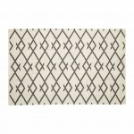 RUG WOVEN COTTON NATURE GREY Scandinavian Style