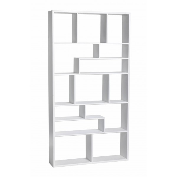 SHELVING UNIT WITH 14 COMPARTMENTS Danish Furniture