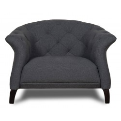 Crispin Armchair Dark Grey