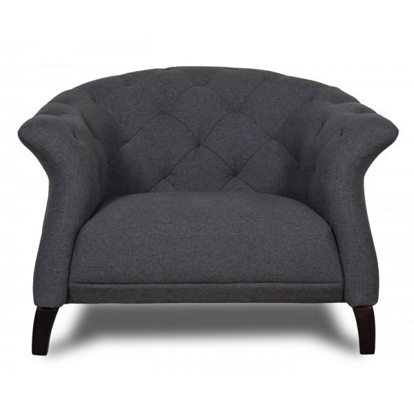 Crispin Armchair Dark Grey