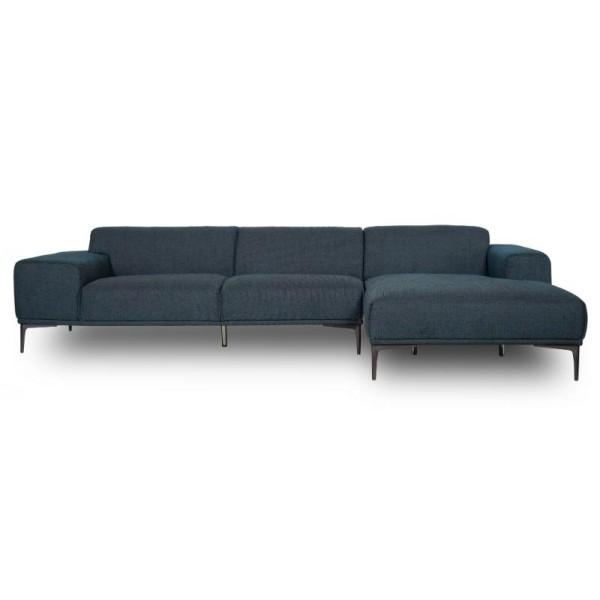 Jasper Right Corner Sofa Blue