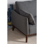 Kendall 2 seater sofa dark Grey