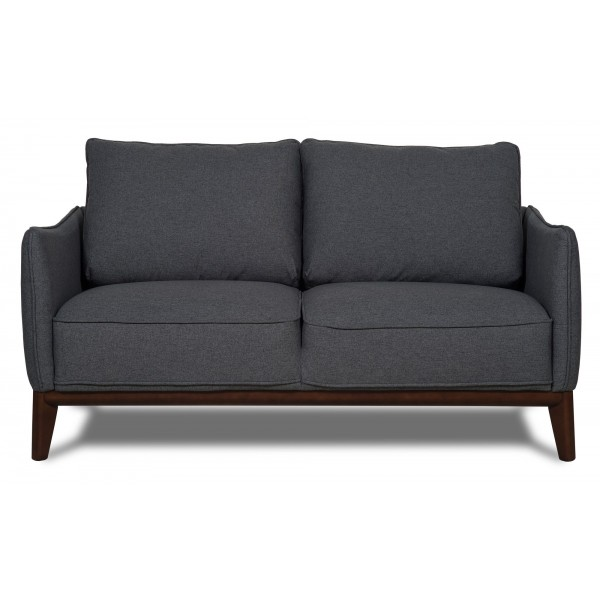 Kendall 2 seater sofa dark Grey Scandinavian Furniture