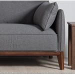Kendall 3 seater sofa dark Grey