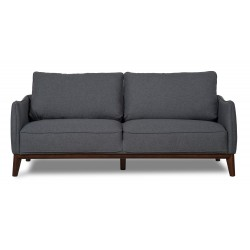 Kendall 3 seater sofa dark Grey