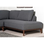 Kendall Right Corner sofa Dark Grey - Scandinavian Style Sofas