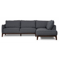 Kendall Right Corner sofa Dark Grey
