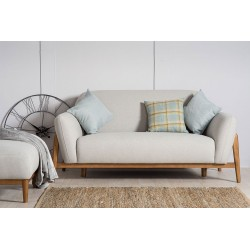 Milo 2 Seater Sofa Light Grey