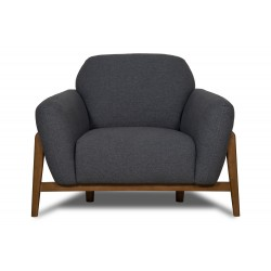 Milo Armchair Dark Grey
