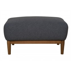 Milo Footstool Dark Grey