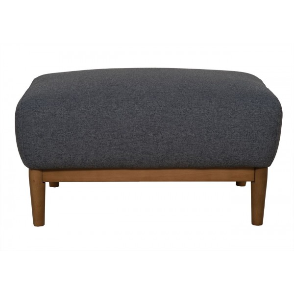 Milo Footstool Dark Grey Footstools UK
