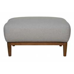 Milo Footstool Light Grey