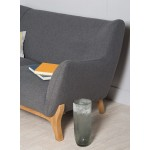 Wesley 2 seater sofa in Dark Grey - Nordic Style Sofas