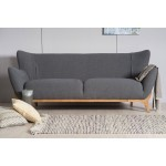 Wesley 3 seater sofa Dark Grey Scandinavian Sofa