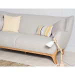 Wesley 3 seater sofa Light Grey - Scandinavian Stule Sofas