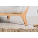 Wesley 2 seater sofa Light Grey - Scandinavian Style Sofas