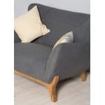 Wesley Armchair Dark Grey - Scandinavian Style Armchairs