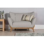 Wesley Armchair Light Grey - Scandinavian Design Furniture