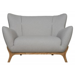 Wesley Armchair Light Grey