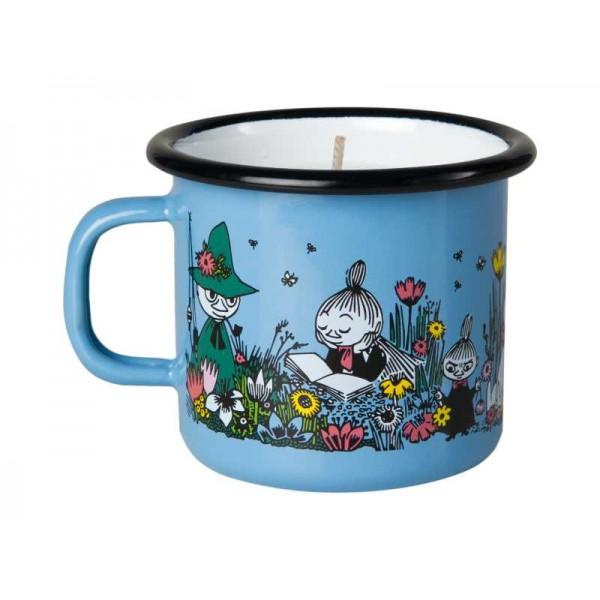 Muurla Enamel Mug with candle 2.5dl