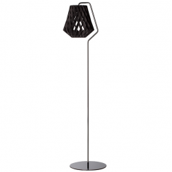 PILKE 28 FLOOR LAMP BLACK