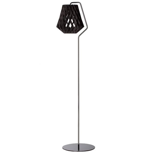 PILKE 28 FLOOR LAMP BLACK Scandi Style