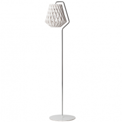 PILKE 28 FLOOR LAMP WHITE