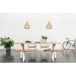 Scandinavian Style Chair Albert Bench
