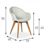 Edgard Outdoor Dining Chair - Lloyd Loom