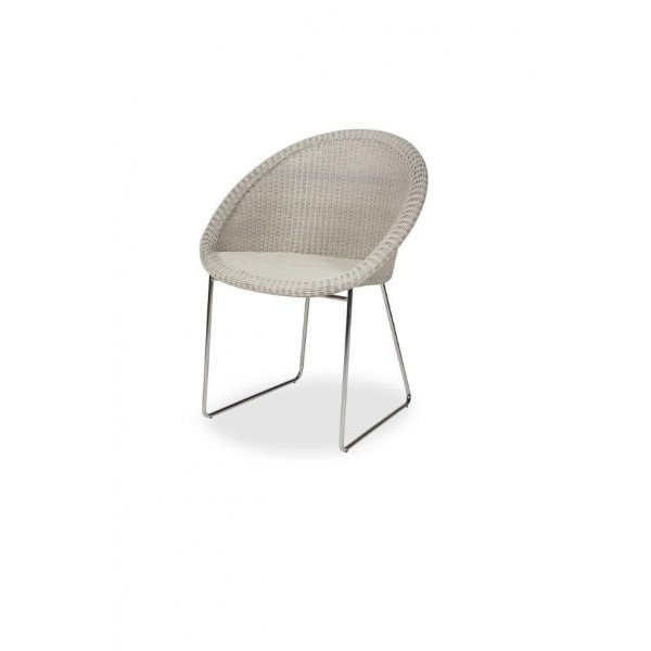 GIPSY WHITE DINING CHAIR Vincent Sheppard