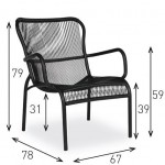 LOOP LOUNGE CHAIR - Scandinavian Chairs