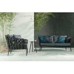 Leo Garden Sofa 2 Seater - Polyester wicker