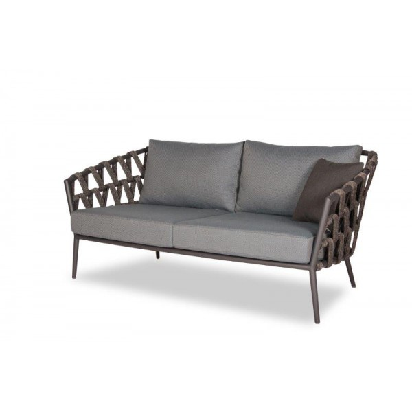 Leo Garden Sofa 2 Seater Polyester wicker