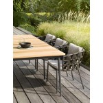 Leo Teak Dining Table - Scandinavian Garden Table