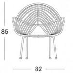 Rocco Lazy Chair - Garden Furniture