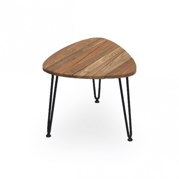 Rozy Table Small in Teak Outdoor Coffee Table