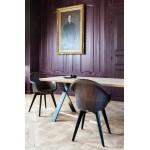 Avril HB Black Wood - Scandinavian Style Sofas & Chairs