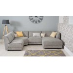 Modular Sofa - Left Arm Piece - Harper Grey - Sofas & Chairs