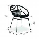 Kiki Chair - Rattan Chairs