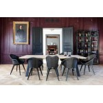 Lily Black Wood - Scandinavian Style Sofas & Chairs